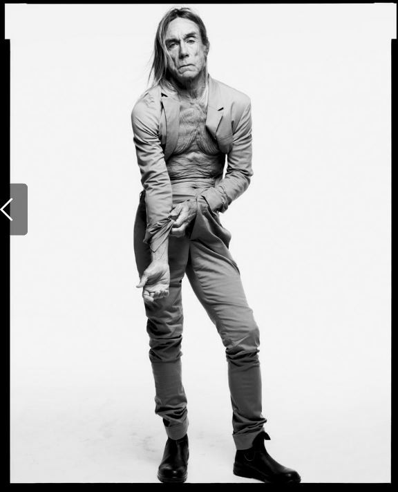 Iggy Pop, New Suit