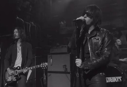 The Strokes On Jimmy Fallon 2011