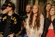 The Strokes & Miley Cyrus - SNL 2011