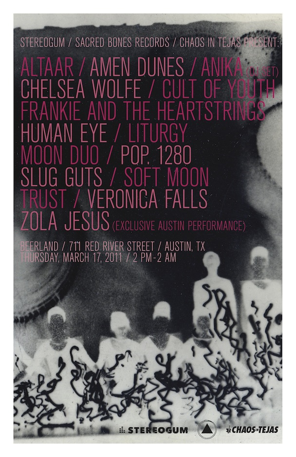 Stereogum Sacred Bones Chaos In Tejas Party