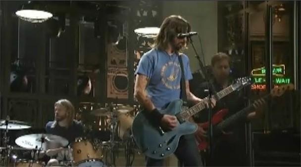 Foo Fighters On SNL