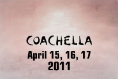 Coachella 2011 Schedule