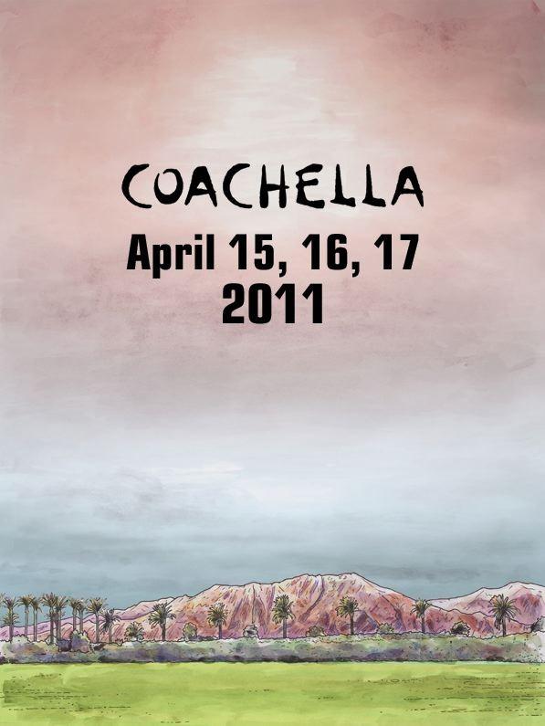 Coachella 2011 Schedule
