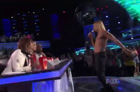 Iggy Pop On American Idol
