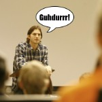 <em>Duh Aficionado</em> Magazine: Ashton Kutcher Did NOT Give A College Lecture On Newtonian Physics