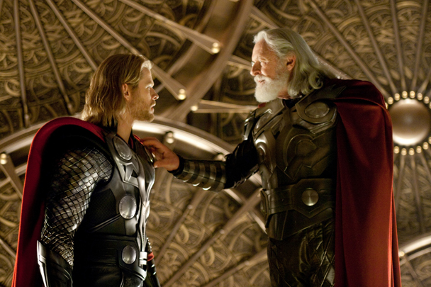 Thor needs to go to his safe place