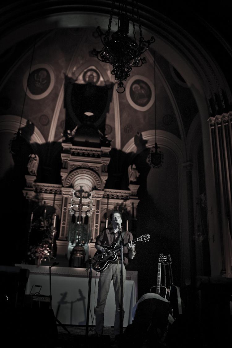 Atlas Sound @ St. Cecilia's Church, Brooklyn 6/16/11