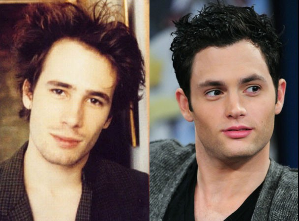 Jeff Buckley and Penn Badgley