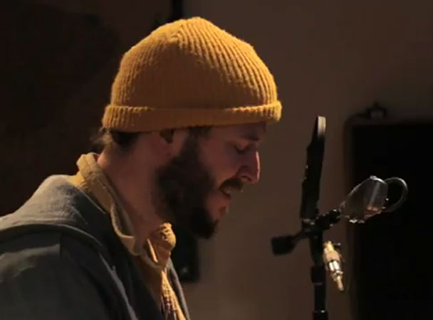 "Watch Bon Iver Play ""I Can't Make You Love Me""/""Nick Of Time"" In Studio"