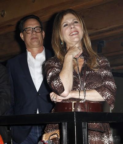 Tom Hanks and Rita Wilson Cheer on Son Chet Haze's Performance