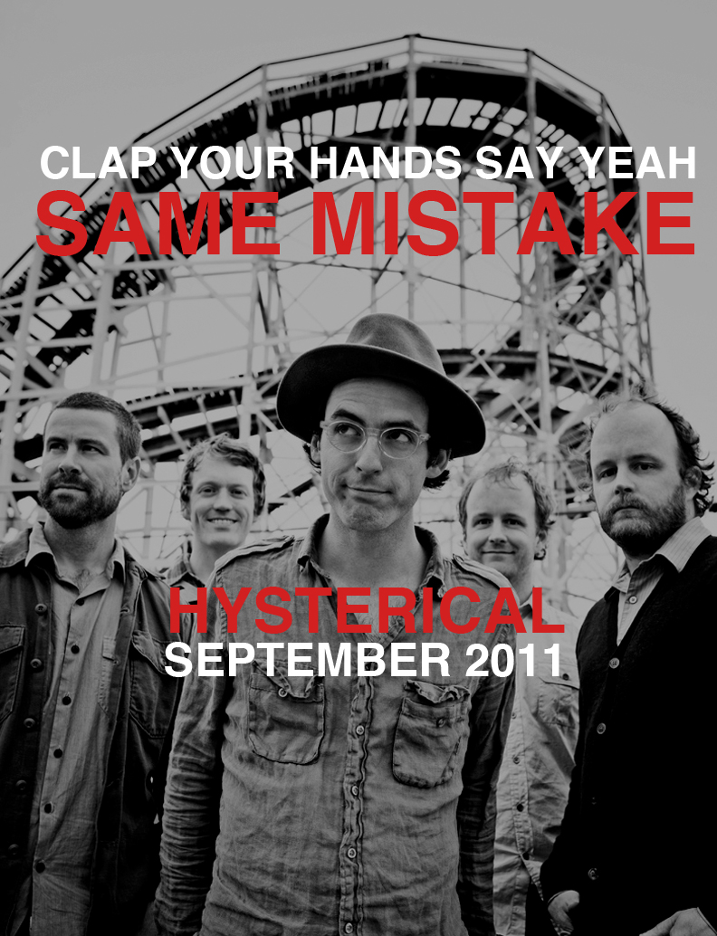 "Clap Your Hands Say Yeah – ""Same Mistake"""