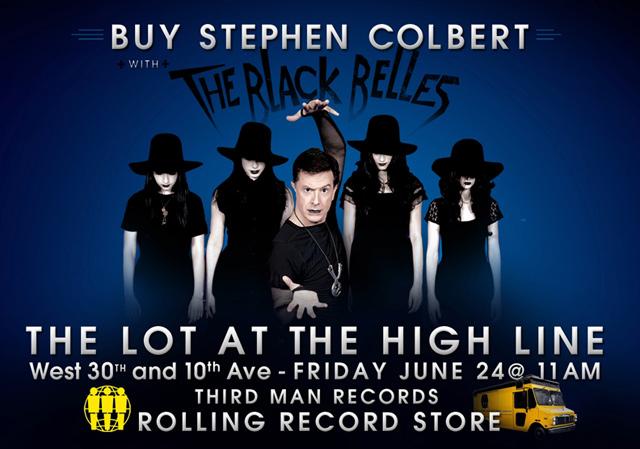 "Stephen Colbert 7"" At High Line"