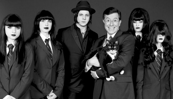 "Watch All The Stephen Colbert x Jack White Videos, ""Charlene II (I'm Over You)"""