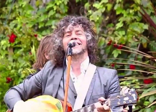 The Flaming Lips In A Cemetery