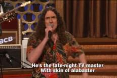 """""""Weird Al"""" Gives Lyrics To Conan's Theme Song"""