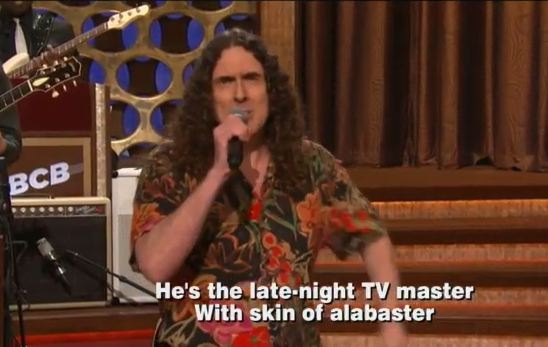 """Weird Al"" Yankovic Gives Lyrics To Conan's Theme Song"