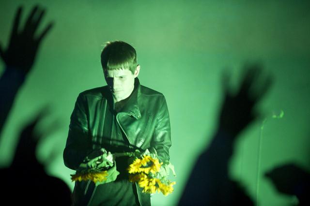Cold Cave, Austra, Prurient @ Ukrainian Cultural Center, Los Angeles 7/27/11