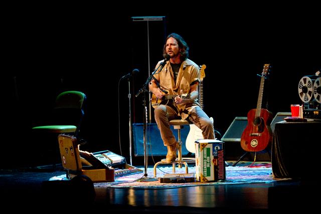Eddie Vedder, Glen Hansard @ Terrace Theater, Long Beach 7/6/11