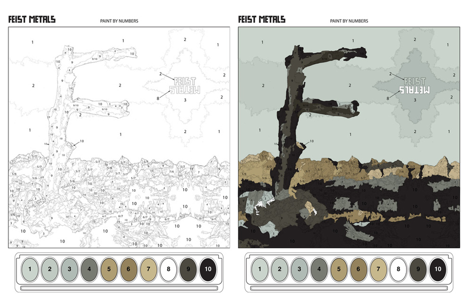 Feist - Metals (Paint By Numbers)