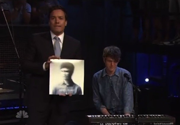 Watch James Blake Play Fallon