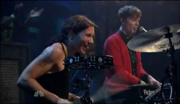 Matt & Kim on Jimmy Fallon
