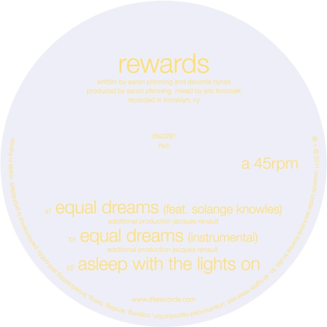 "Rewards - ""Equal Dreams"""