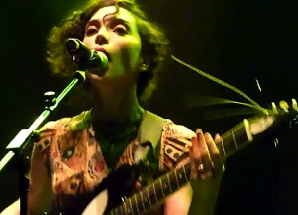 St. Vincent Covers Tom Waits