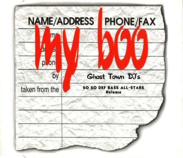 "Ghost Town DJ's - ""My Boo"""