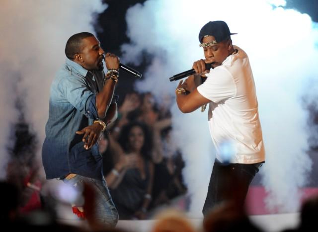 Kanye West & Jay-Z @ VMAs 2011