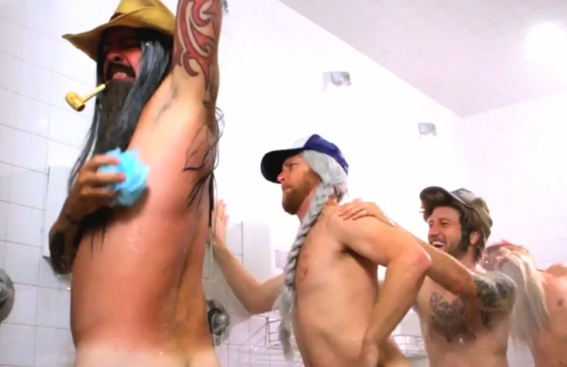 Foo Fighters Make A Fake Gay Porno Stereogum