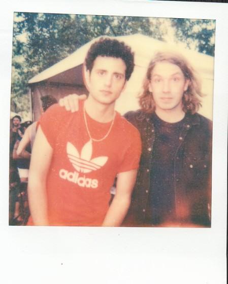 Artist Polaroids From Lollapalooza 2011