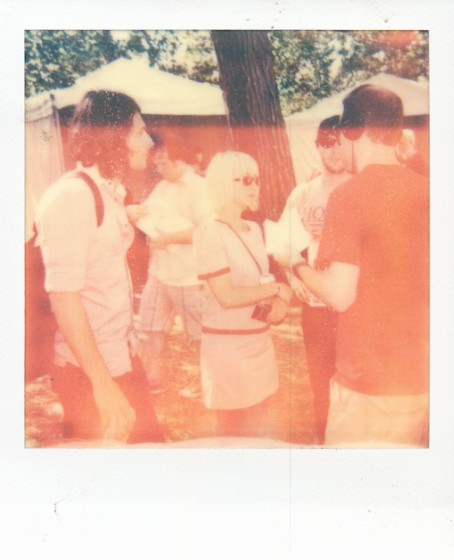 Artist Polaroids From Lollapalooza 2011