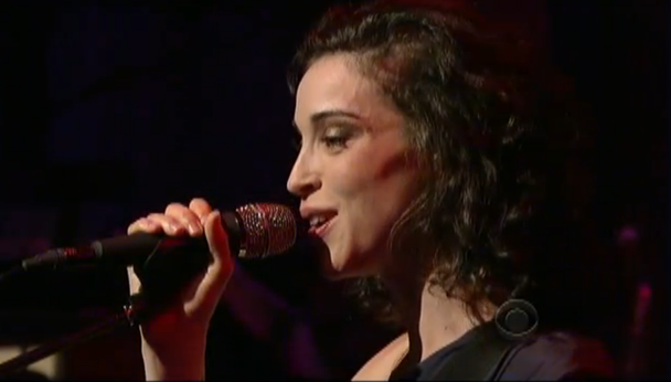 St. Vincent Plays Letterman