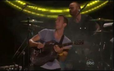 Coldplay Do Kimmel