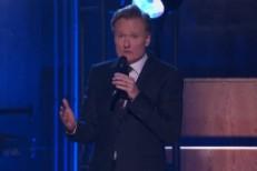 "Conan's ""Creep"" As A Chimney Sweep"