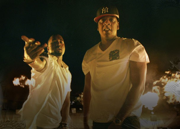 """Jay-Z & Kanye West - """"Otis"""" Video"""