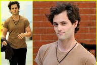 Here's A Photo Of Penn Badgley As Jeff Buckley