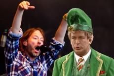 Radiohead & Alec Baldwin