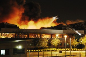 Sony Warehouse Set Ablaze In Enfield, UK