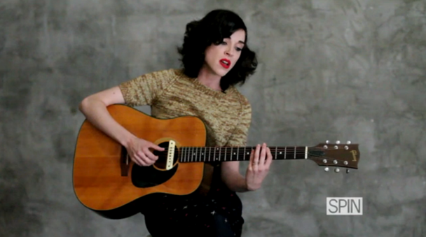 St. Vincent Covers Tom Waits for Spin
