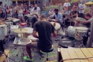 Watch IIII (Members Of Deerhoof, Man Man, Soft Circle, Lichens) & Light Asylum @ Union Pool, Williamsburg 9/3/11