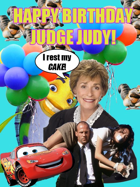 Happy birthday judge judy stereogum judgejudybirthday bookmarktalkfo Images