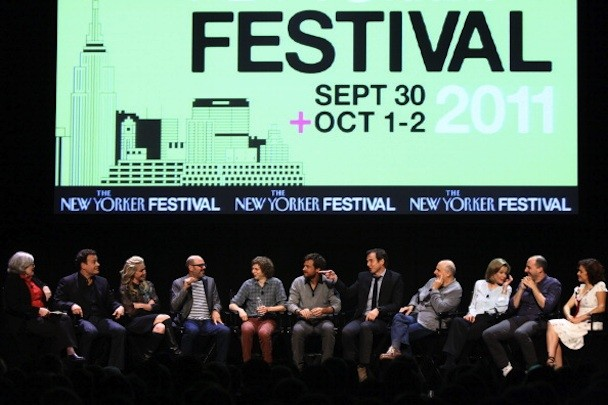 The 2011 New Yorker Festival: