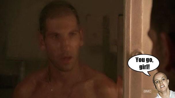 The Walking Dead S02e03 The One Where Shane Gets A Haircut Stereogum