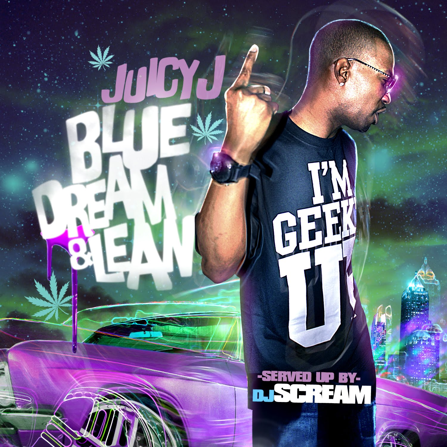 Download Juicy J <em>Blue Dream &#038; Lean</em> Mixtape