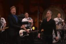 Morrissey on Conan