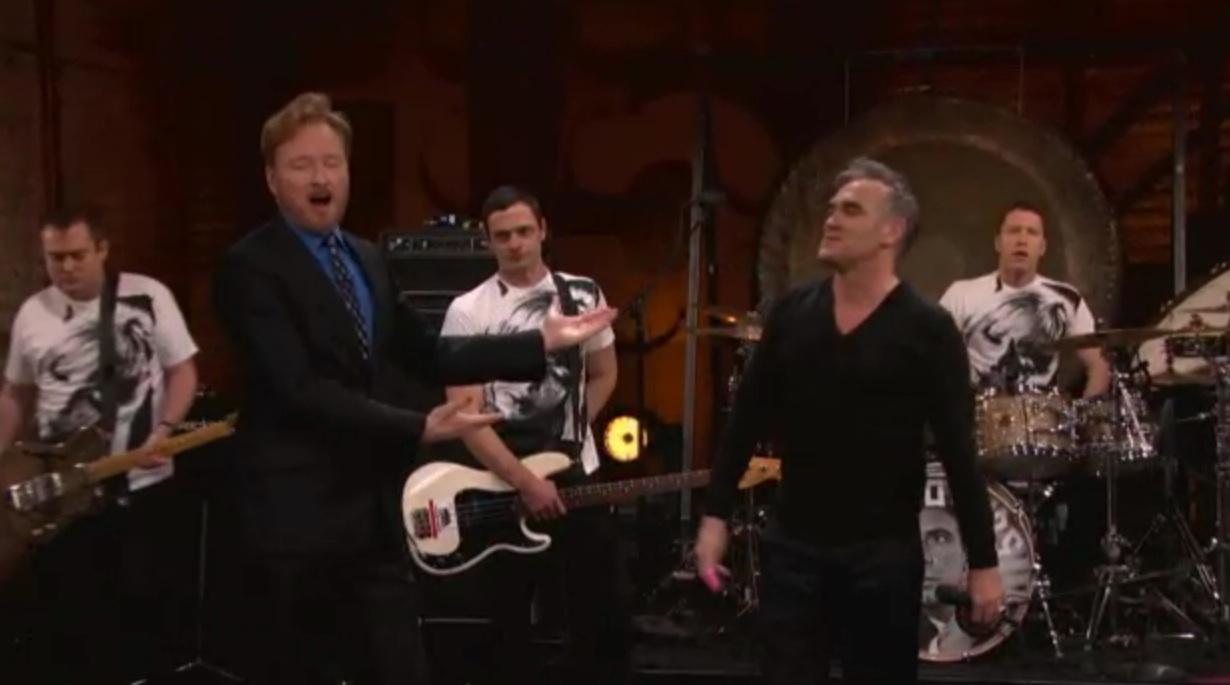 Watch Morrissey On <em>Conan</em>