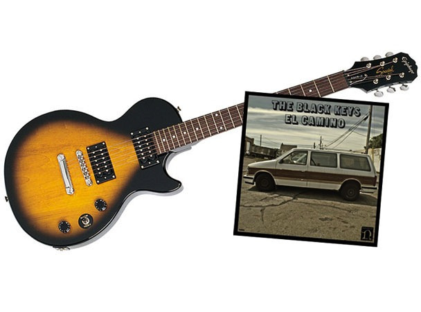 Win A Black Keys Prize Package: Epiphone Special II Guitar, Tix To 12/5 NYC Show &#038; Signed <em>El Camino</em> Vinyl