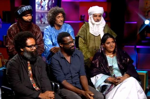 Tinariwen Bring TVOTR Members To <em>Colbert</em>