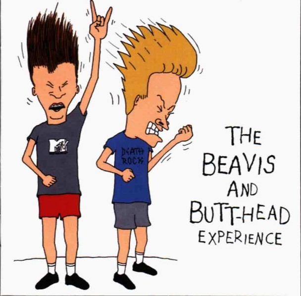 Beavis & Butt-head Watch A Battles Video